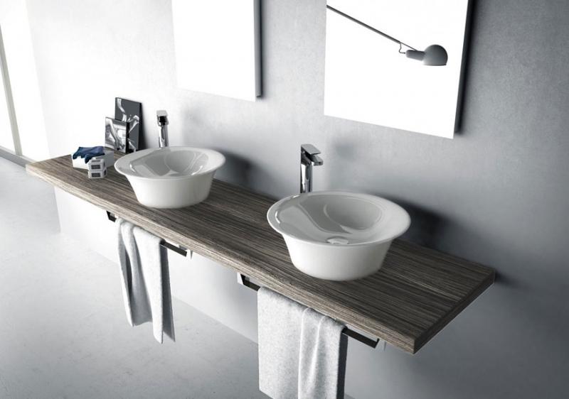 Free standing sinks bathroom